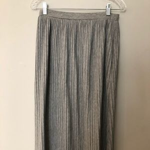 ASOS   Grey maxi skirt